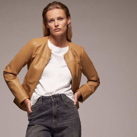 Zara Double Zippered Jacket